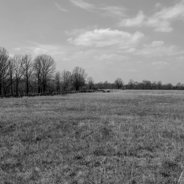"""Pea Ridge Battlefield"" stock image"