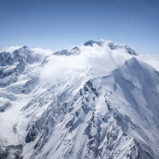 """Southern Alps"" stock image"
