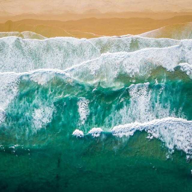 """Ocean Blue"" stock image"