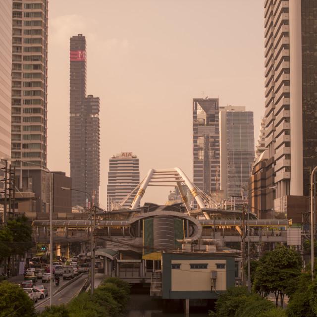 """THAILAND BANGKOK SATHON CITY CENTRE"" stock image"