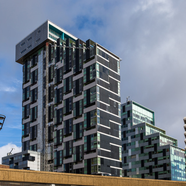 """Unity Buildings, Liverpool"" stock image"