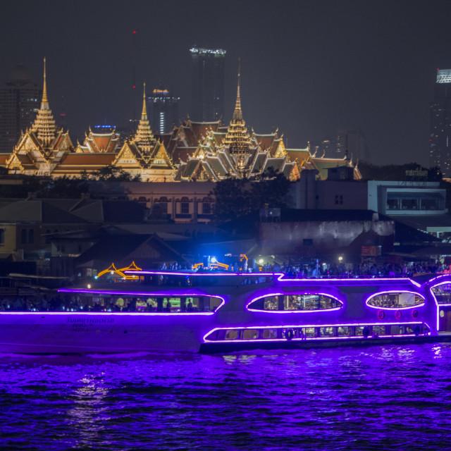 """THAILAND BANGKOK CHAO PHRAYA WAT PHRA KAEW"" stock image"