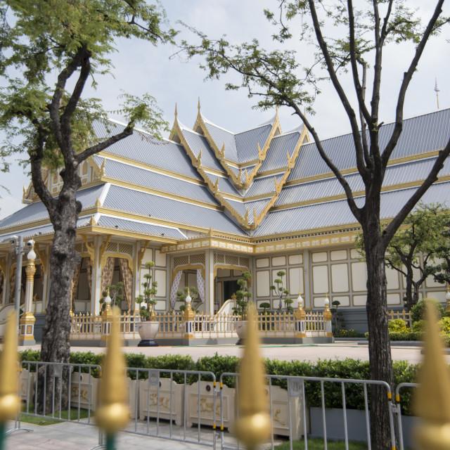"""THAILAND BANGKOK RAMA 9 FUNERAL"" stock image"
