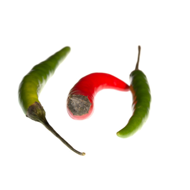 """Chilli In The Middle"" stock image"
