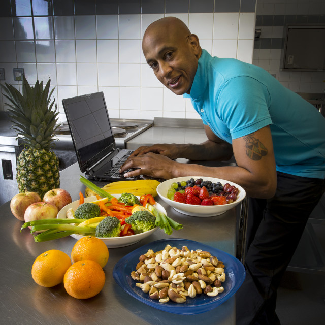 """Nutritionist"" stock image"