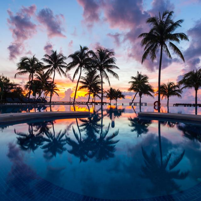 """Cancun"" stock image"