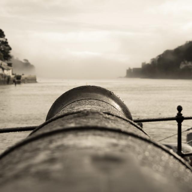 """Dartmouth Estuary"" stock image"