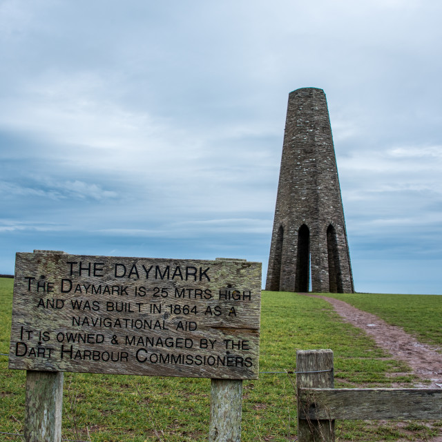 """""""The Daymark"""" stock image"""