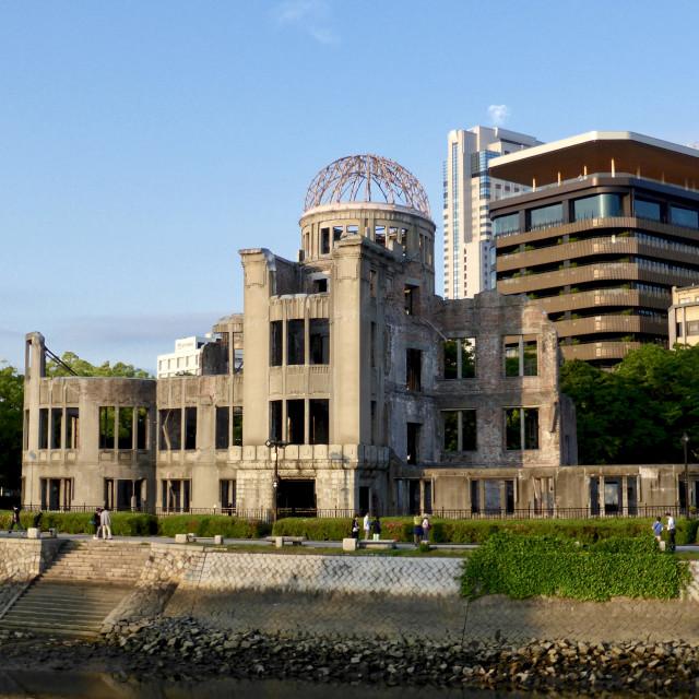 """Atomic Bomb Dome, Hiroshima"" stock image"