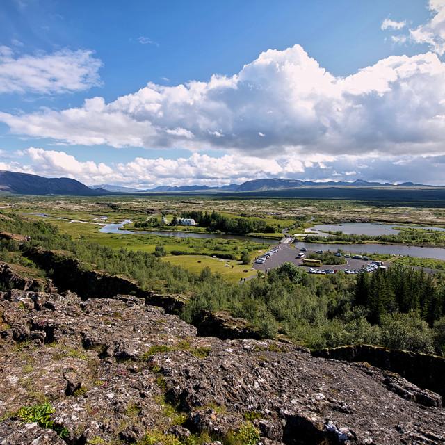 """""""Thingvellir National Park, Iceland"""" stock image"""