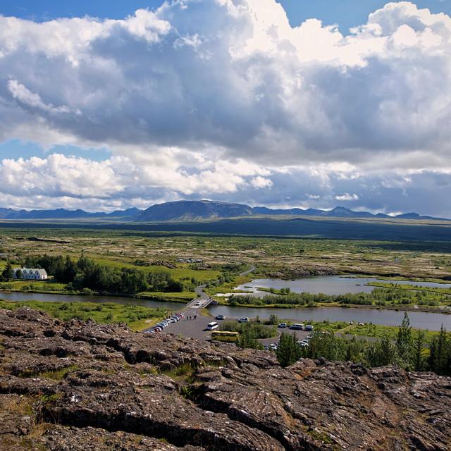 """""""Thingvellir National Park_2, Iceland"""" stock image"""