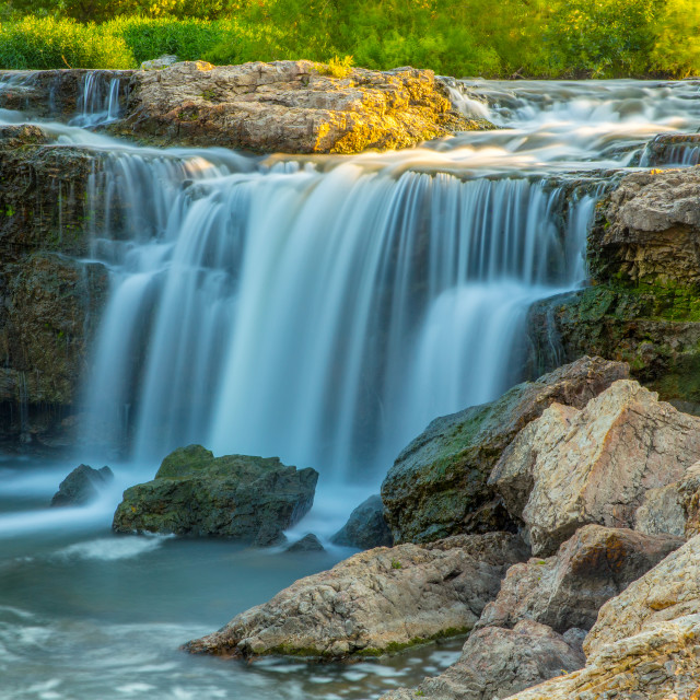 """Grand Falls Waterfall"" stock image"