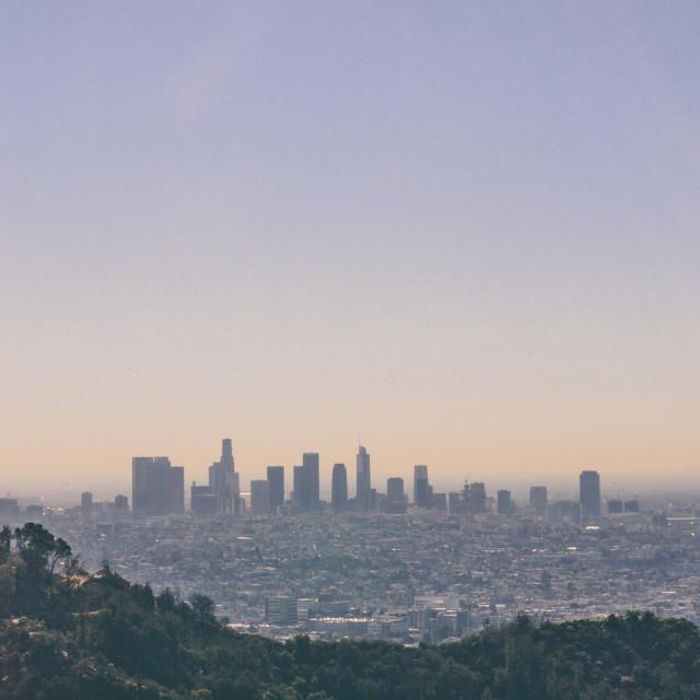"""Los Angeles"" stock image"