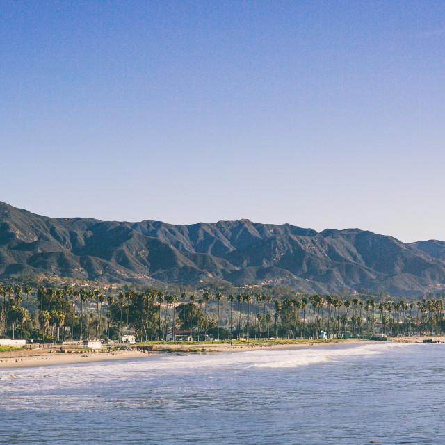 """Santa Barbara"" stock image"