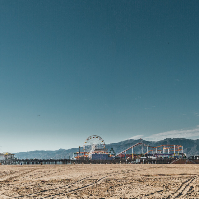 """Santa Monica"" stock image"