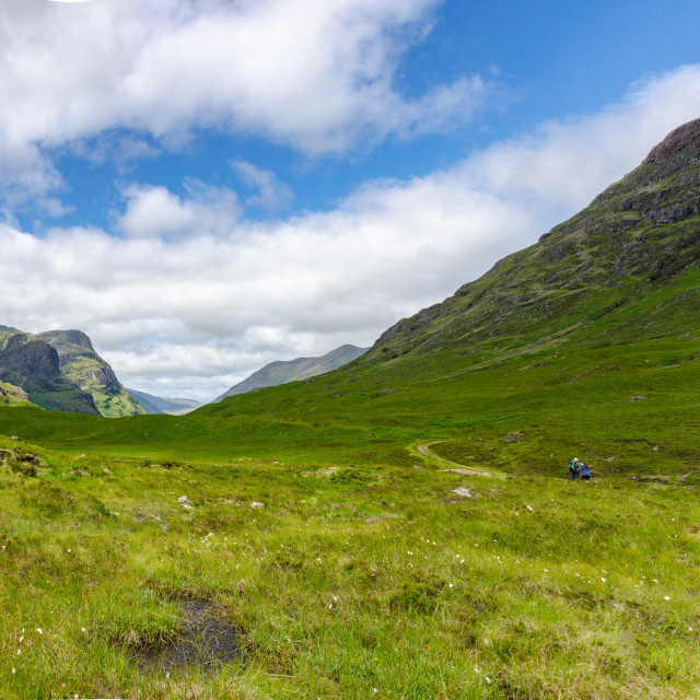 """""""Scottish Highlands"""" stock image"""
