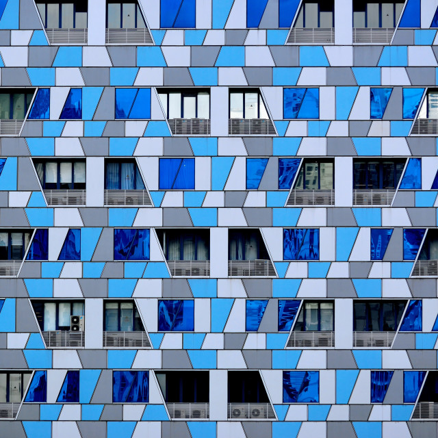 """""""Mosaic Office Tower"""" stock image"""