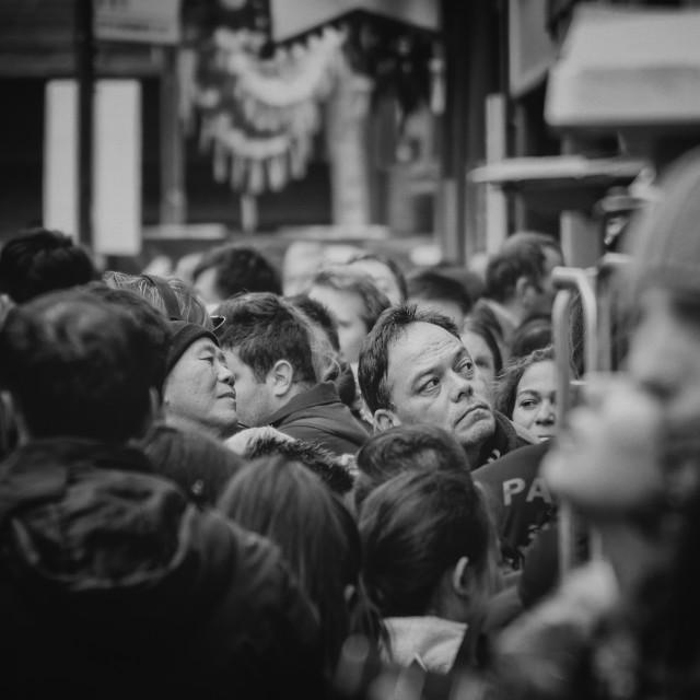 """Random Street Photography - Man"" stock image"