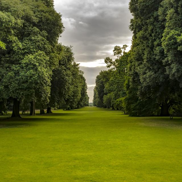 """Summertime at Kew"" stock image"