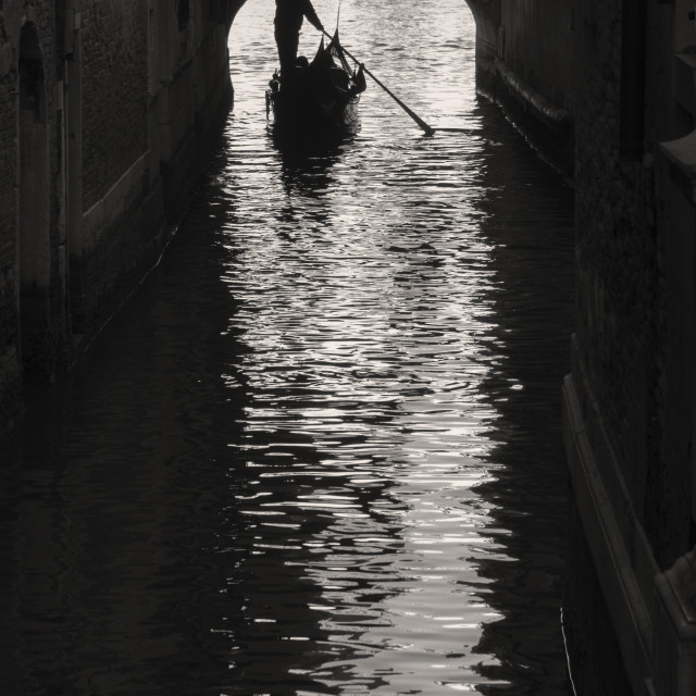 """""""Venice canal"""" stock image"""