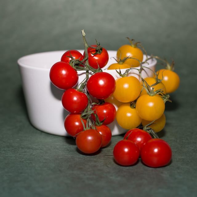 """Tomato Cascade"" stock image"
