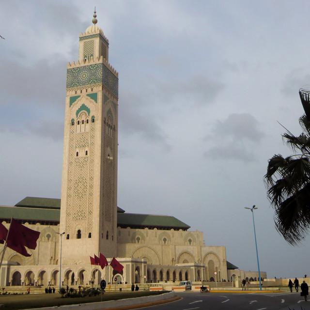 """Casablanca, Morocco series..."" stock image"