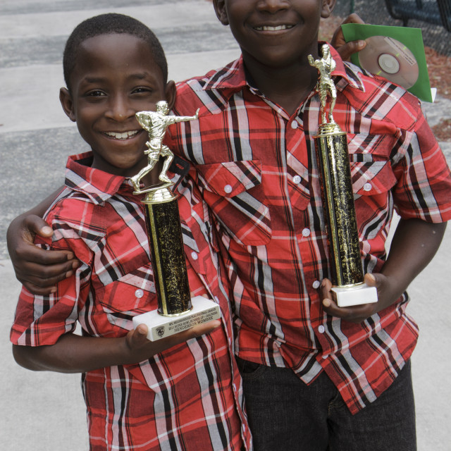 """Florida, North Miami Beach, Black Blacks African Africans ethnic ethnics..."" stock image"