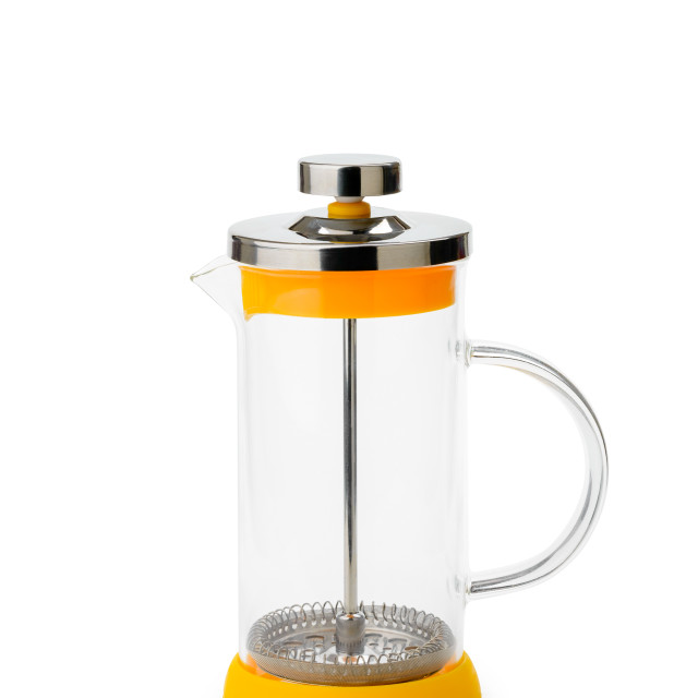 """""""Empty French Press for Coffee"""" stock image"""