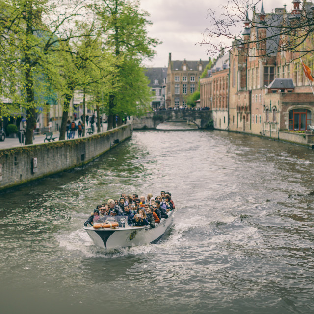 """""""Brugge Canals"""" stock image"""
