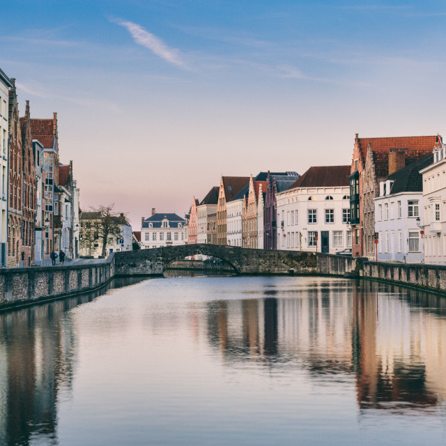 """""""Brugge Canal"""" stock image"""