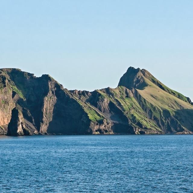 """Heimaey island in Iceland"" stock image"