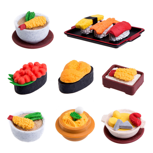"""rubber food toys"" stock image"