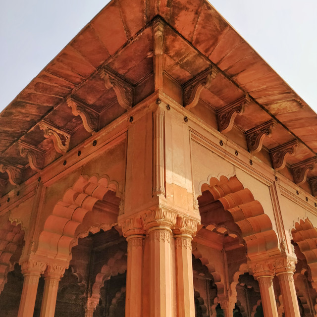 """Red Fort, New Delhi India"" stock image"
