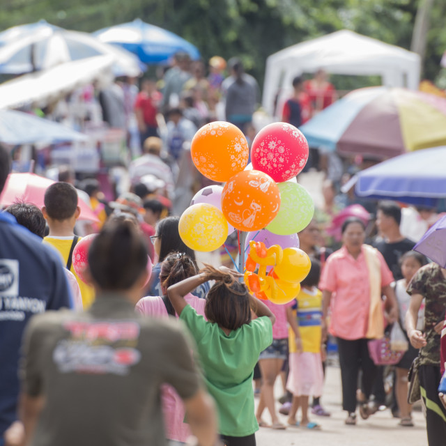 """THAILAND ISAN PHIMAI LONG BOAT RACE FESTIVAL"" stock image"