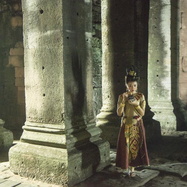 """THAILAND ISAN PHIMAI KHMER TEMPLE"" stock image"