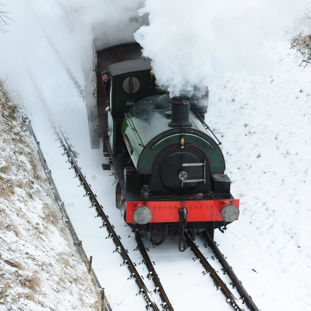 """Steam & Snow"" stock image"