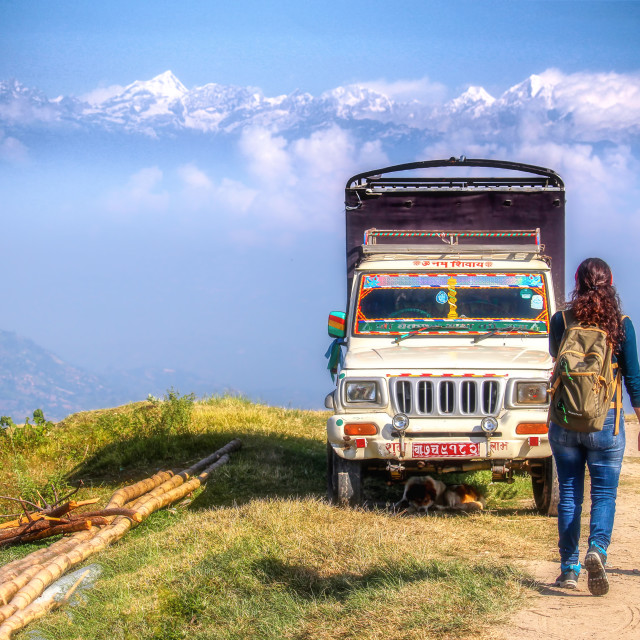 """Nepal wanderlust"" stock image"