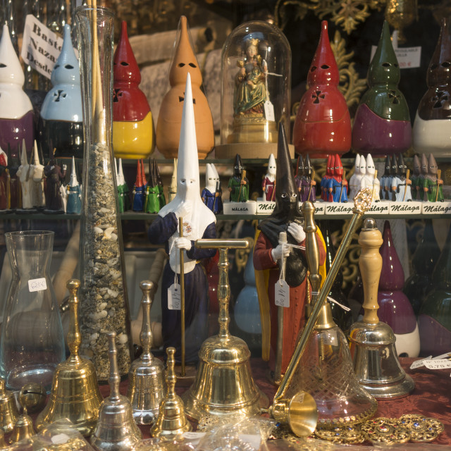 """Holy week, spanish souvenirs"" stock image"