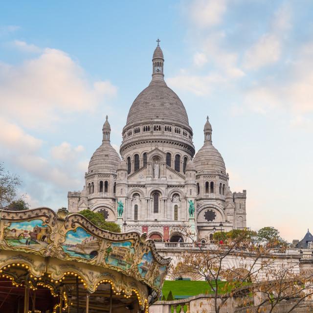 """""""Sacre-Coeur"""" stock image"""