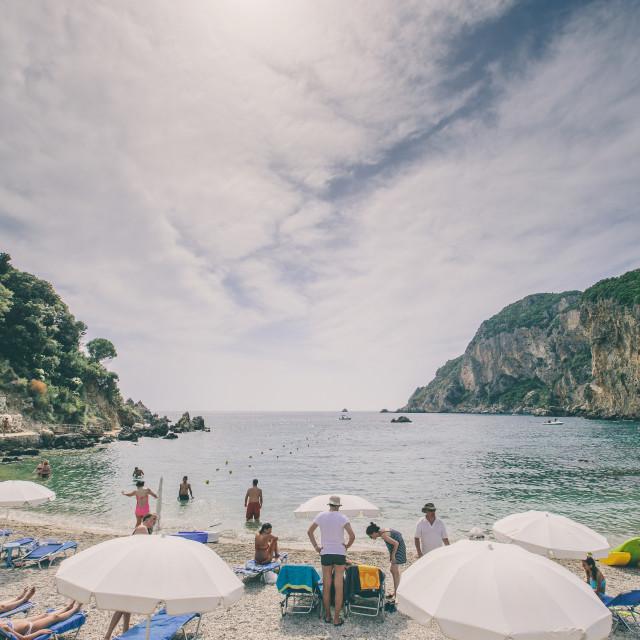 """""""Corfu"""" stock image"""
