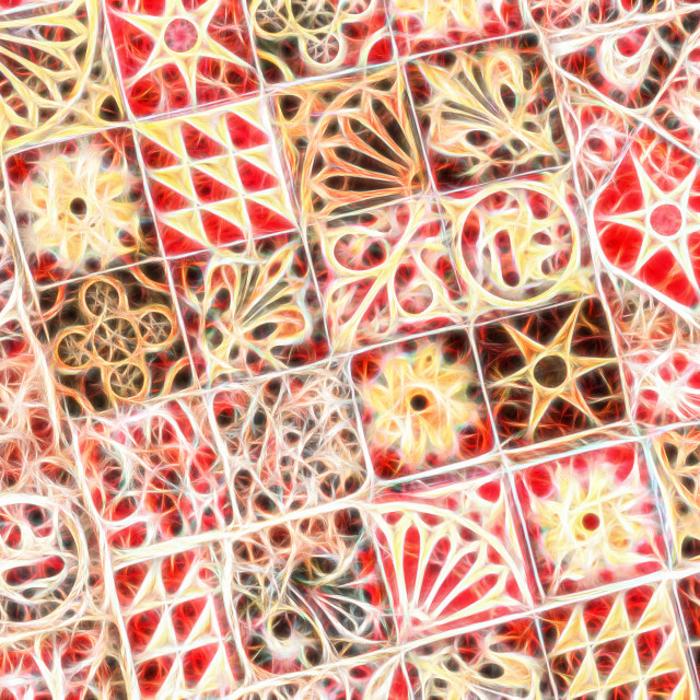 """fantasy tiles"" stock image"