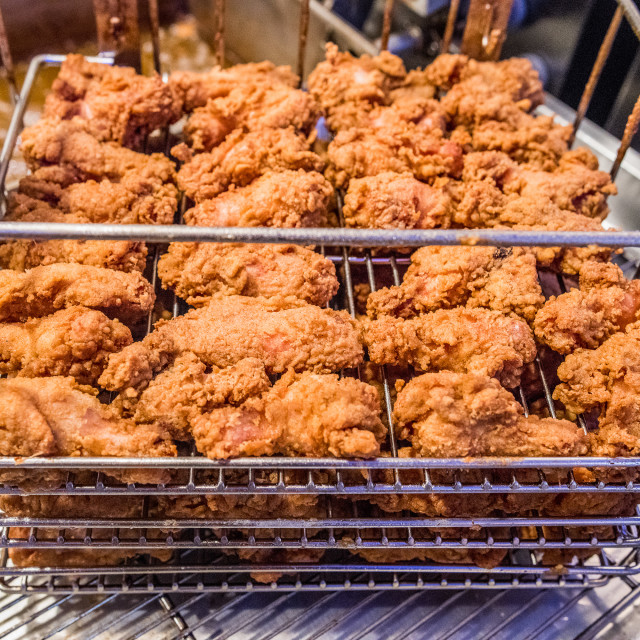 """Fried Chicken"" stock image"
