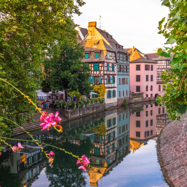 """Summer in Strasbourg"" stock image"