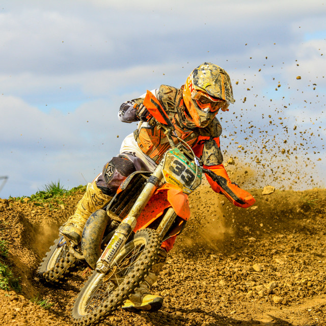 """Motor Cross"" stock image"