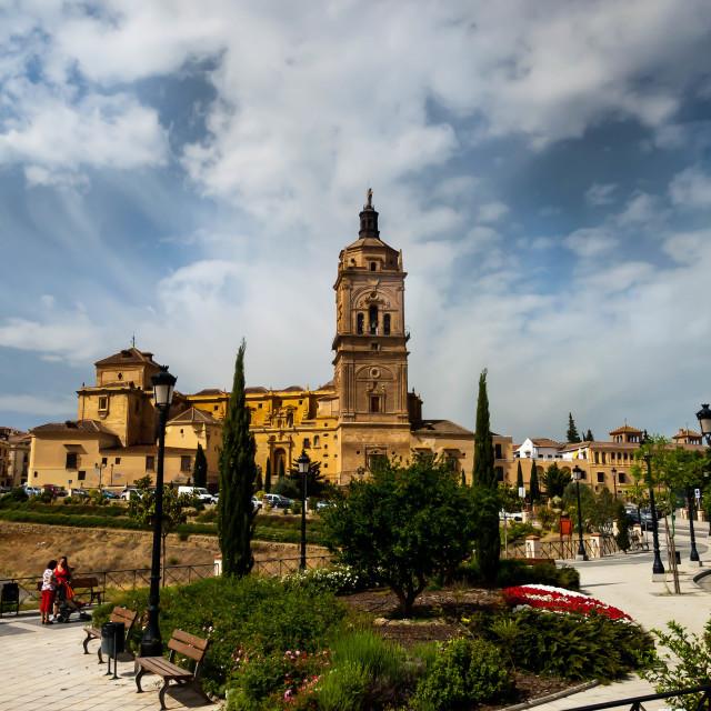 """Spanish Church"" stock image"