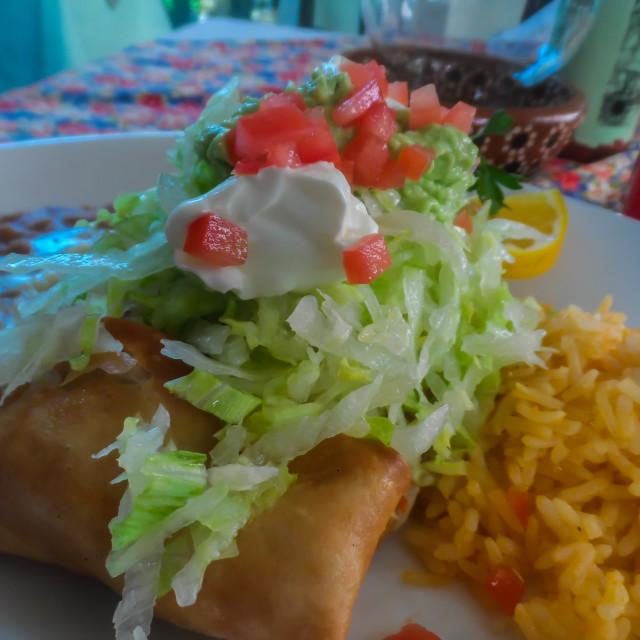 """Breakfast Burrito"" stock image"