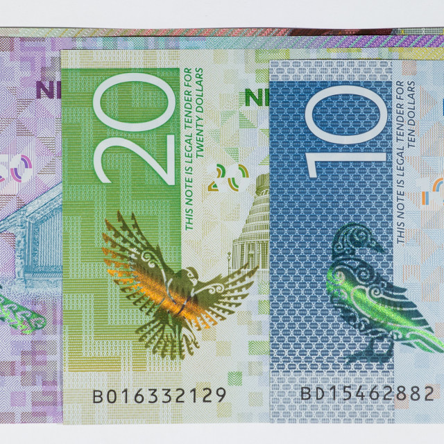 """""""New Zealand Currency"""" stock image"""
