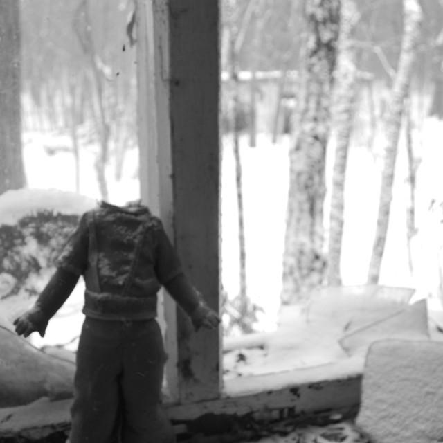 """Headless doll - Chernobyl"" stock image"
