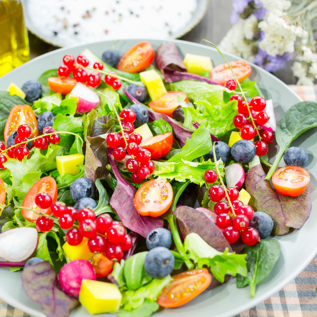 """Fresh salad"" stock image"
