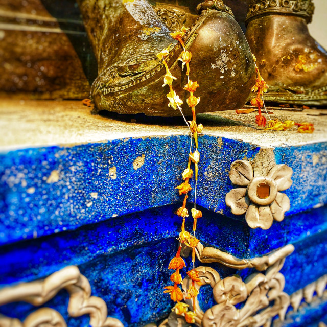"""Detail, Temple Chiang Mai, Thailand"" stock image"